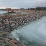 Kivikindlustus Sviby sadamas